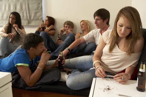 Adolescents et drogues