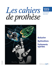 Les cahiers de prothèse