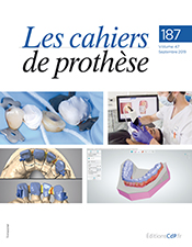 Les cahiers de prothèse