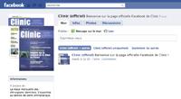 Retrouvez Clinic sur Facebook