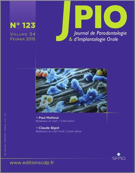Revue Journal de Parodontologie & d'Implantologie Orale