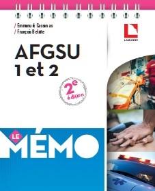 AFGSU 1 et 2 - Le Mémo